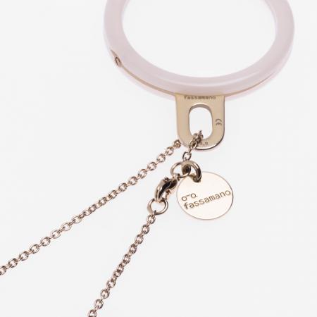 Chain Forzatina / Clear gold