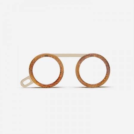 Glasses necklace, Fassamano Venezia front view