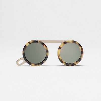 Fassamano Light Brown Havana Sun / Polished rose gold